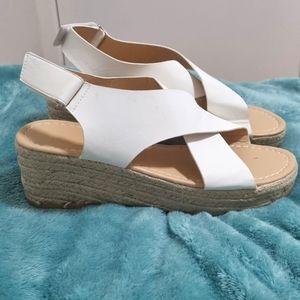 Low platform heels